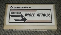 MOLE ATTACK Commodore VIC-20 computer Video Game VIC20 Cartridge TESTED Working