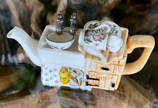 Portmeirion Botanic Garden 1 One Cup Kitchen Sink Mini Teapot Paul Cardew