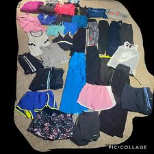 36 Piece Lot Womens S Athletic Lot Under Armour Adidas Nike Shorts Tees Leggings