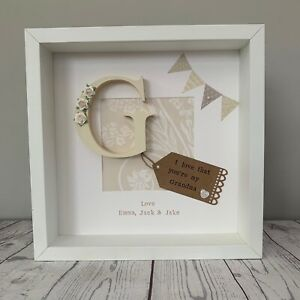 Personalised Mother's Day Birthday Frames Gift For Grandma Or Gran