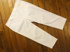 New!  Charter Club White Classic Fit Slim Leg Ankle Pants      $79.50