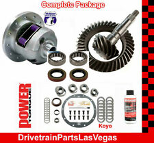 Yukon DuraGrip Posi GM 8.5 3.73 Ratio Gear Set Master Rebuild Kit Axle Brn 99 08