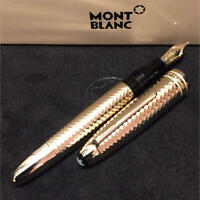 MONTBLANC FOUNTAIN PEN SOLITAIRE GEOMETRIC DIMENSION 146 LE GRAND F/S FROM JAPAN