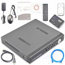 8CH Hybrid DVR NVR AHD CVI TVI CCTV IP Cam Security Cloud + HDMI Selector Cable