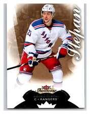 (HCW) 2014-15 Upper Deck Fleer Showcase #96 Derek Stepan NY Rangers NHL Mint