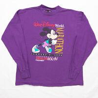 VTG 90s Walt Disney World Florida 1996 Marathon womens Tee Shirt size Large