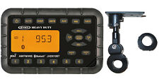 JENSEN JHD910BT Waterproof Motorcycle Bluetooth MINI Radio with Handle Bar Mount