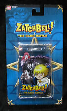 Zatchbell The Card Battle - Booster Pack - Blue - Ban Dai - 2005 New in Package