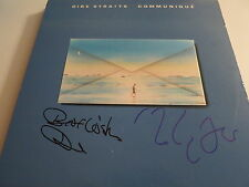 MARK KNOPFLER & DAVID KNOPFLER SIGNED LP EXACT PROOF! COA DIRE STRAITS AUTOGRAPH