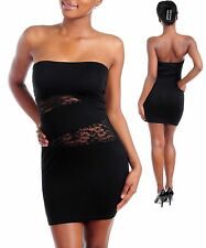 BNWOT STRAPLESS BLACK LACEY DRESS SIZE SMALL/8