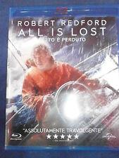 ALL IS LOST FILM IN BLU-RAY NUOVO DA NEGOZIO INCELLOFANATO - COMPRO FUMETTI SHOP