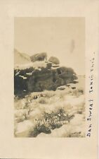 1900's RPPC of Wright's Canon West Humbolt Mountains in Nevada by Dan Sweat