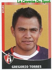 051 GREGORIO TORRES MEXICO FC.ATLAS GUADALAJARA PRIMERA DIV APERTURA 2010 PANINI