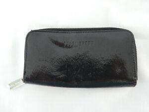 BOBBI BROWN BRUSH MAKE UP BAG / ZIP AROUND PURSE, BLACK