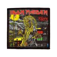 IRON MAIDEN Woven Patch KILLERS Aufnäher  New Wave Of British Heavy Metal