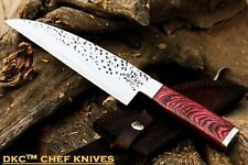 "DKC-194-440c ZATORI CHEF Knife 440c Stainless Steel Blade 7"" Rosewood Handle 5"""