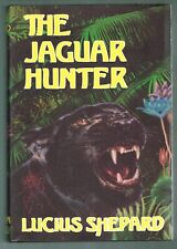 The Jaguar Hunter by Lucius Shepard (1987, Hardcover) 1st Printing Inscribed