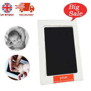 Baby Ink Pad No Mess Ink Pad Black Large Inkless Touch Hand Print Foot Paw Print