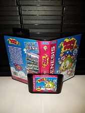 Super Bubble Bobble MD Game for Sega Genesis! Cart & Box