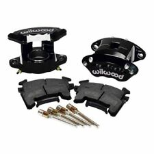 Wilwood 140-12097-BK D154 Front Caliper Kit - 2.50,1.04 Piston With Pads - Black