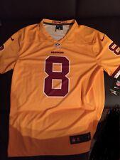 NFL Washington Redskins Color Rush jaune Kirk Cousins #8