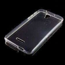 Custodia PERFECT FIT cover trasparente per Alcatel OneTouch Pop 4+ Plus 5056M