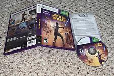 Kinect Star Wars (Microsoft Xbox 360, 2012) Complete