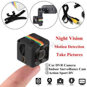 1080P HD Mini Home/Car Camera DVR Video Recorder Night Vision Motion Detection