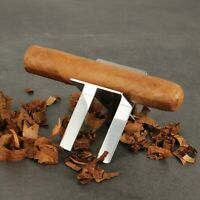 CIGARISM Stainless Steel Foldable Cigar Showing Stand Ashtray