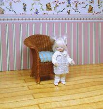 OOAK Miniature Handmade Sculpt Doll Baby Girl House Artist.