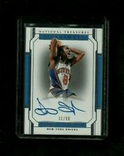 Latrell Sprewell 2018-19 National Treasures SIGNATURES Auto #/99! ON-CARD Knicks