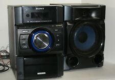 SONY MINI HI-FI 200W HCD-EC709iP Shelf Stereo System Boombox AMFM CD ipod iphone