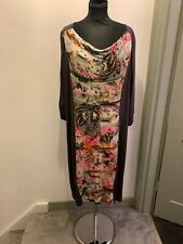 Gelco Abstract Studded Ruched Detail Dress Size XL/XXL