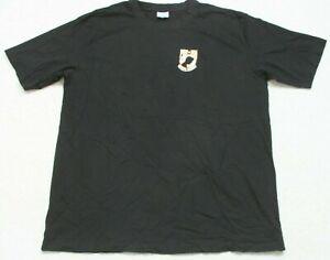 Pudala Uniforms Black POW MIA Graphic T-Shirt Tee 3XL Short Sleeve Men's XXXL