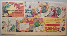 Ben-Gay Ad: Peter Pain: Stages A Tear-Jerker For Grandma! 7.5 x 14 inches