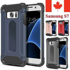 For Samsung Galaxy S7 Case Heavy Duty Dual Layer Hybrid Shockproof Armor Cover