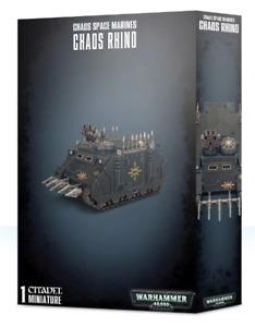 Chaos Space Marines Rhino Warhammer 40K NIB Flipside