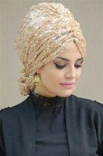 CS-49 Fertig Kopftuch Praktisch Hijab Türban Esarp Sal Tesettür Khimar