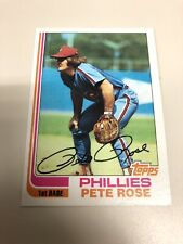 1982 Topps Pete Rose Baseball Card #78 Philadelphia Phillies
