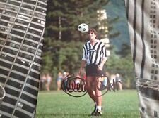 Paolo Rossi mano firmado 12 X 8 Foto Italia meta Juventus Leyenda Copa del mundo certificado de autenticidad 3