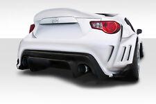 2013-2015 Scion FR-S VR-S Wide Body Rear Bumper 4 pc 112650