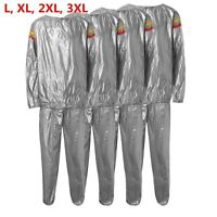 Heavy Duty Sweat Sauna Suit Exercise Gym Suit Fitness Weight Loss ! √