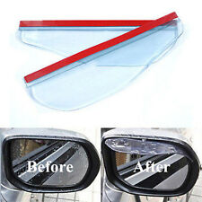 Car Rear view Side Mirror Rain Board Eyebrow Cover Shield Sun Visor Shade 1pair