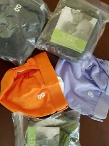 Brand new 5 Large Gdiapers with pouches / liners