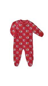 NFL Kansas City Chiefs Baby Boys' Blanket Zip-Up Sleeper 18 Months