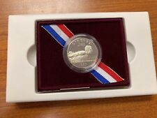 1996 United States Mint Proof Olympic Swimmer Coin W/ Box & CoA
