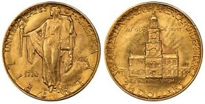 1926 PCGS MS62 Sesquicentennial $2.5 Gold Commemorative