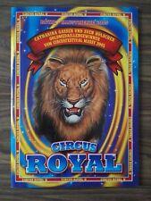 Programme Circus ROYAL 2005 - cirque cirkus circo