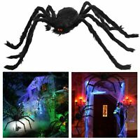 5FT Hairy Giant spider decoration Halloween prop huanted house decor party Huge