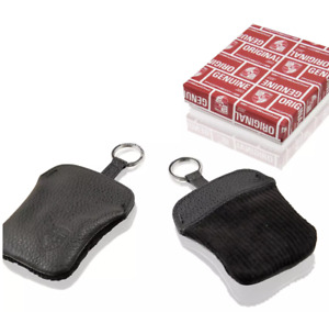 Corduroy key pouch with embossed Porsche Crest; for use on all Porsche models
